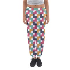 Background Abstract Geometric Women s Jogger Sweatpants