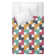 Background Abstract Geometric Duvet Cover Double Side (single Size)