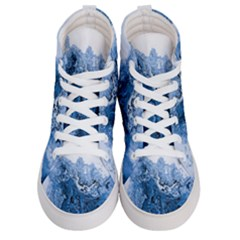 Water Nature Background Abstract Women s Hi Top Skate Sneakers