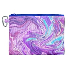 Abstract Art Texture Form Pattern Canvas Cosmetic Bag (xl)