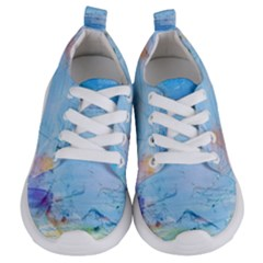 Background Art Abstract Watercolor Kids  Lightweight Sports Shoes