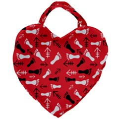 Red Giant Heart Shaped Tote