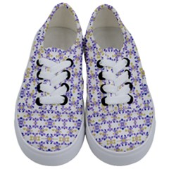 Decorative Ornate Pattern Kids  Classic Low Top Sneakers