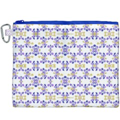 Decorative Ornate Pattern Canvas Cosmetic Bag (xxxl)