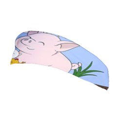 Friends Not Food   Cute Pig And Chicken Stretchable Headband