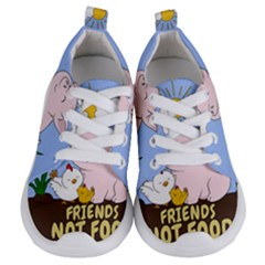 Friends Not Food   Cute Pig And Chicken Kids  Lightweight Sports Shoes