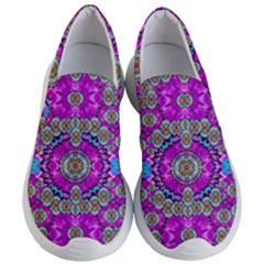 Spring Time In Colors And Decorative Fantasy Bloom Women s Lightweight Slip Ons