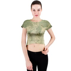 Ballet 2523406 1920 Crew Neck Crop Top