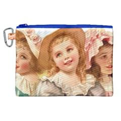 Girls 1827219 1920 Canvas Cosmetic Bag (xl)