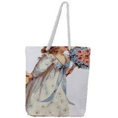 Child 1718357 1920 Full Print Rope Handle Tote (large)