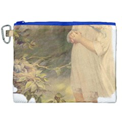 Vintage 1650586 1920 Canvas Cosmetic Bag (xxl)