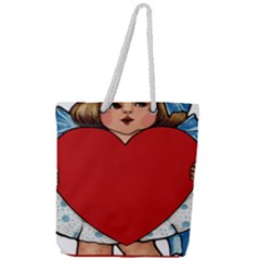 Child 1718349 1920 Full Print Rope Handle Tote (large)