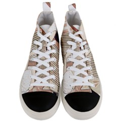 Woman 1503387 1920 Men s Mid Top Canvas Sneakers