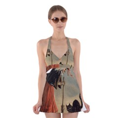 Witch 1461961 1920 Halter Dress Swimsuit