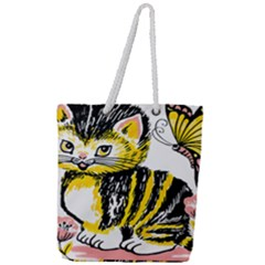 Cat 1348502 1920 Full Print Rope Handle Tote (large)