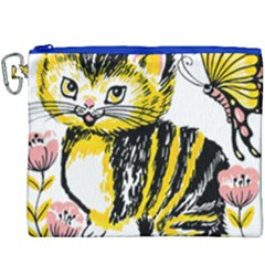 Cat 1348502 1920 Canvas Cosmetic Bag (xxxl)