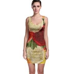 Flowers 1776429 1920 Bodycon Dress