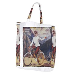 Bicycle 1763235 1280 Giant Grocery Zipper Tote