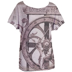 Lottery Women s Oversized Tee