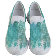 Splash Teal Women s Lightweight Slip Ons