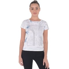 French 1047909 1280 Short Sleeve Sports Top
