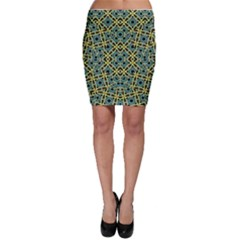 Arabesque Seamless Pattern Bodycon Skirt