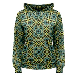 Arabesque Seamless Pattern Women s Pullover Hoodie