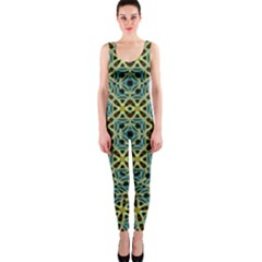 Arabesque Seamless Pattern One Piece Catsuit