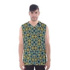 Arabesque Seamless Pattern Men s Basketball Tank Top