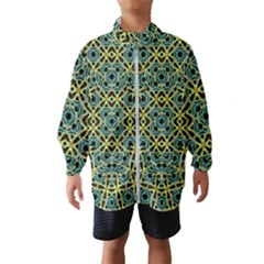 Arabesque Seamless Pattern Wind Breaker (kids)