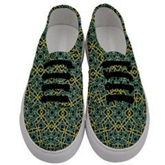 Arabesque Seamless Pattern Men s Classic Low Top Sneakers