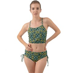 Arabesque Seamless Pattern Mini Tank Bikini Set