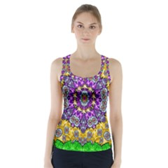 Sunshine In Mind The Season Is Decorative Fine Racer Back Sports Top
