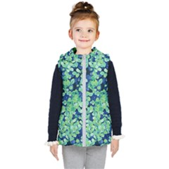 Moonlight On The Leaves Kid s Puffer Vest