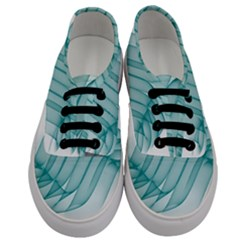Background Light Glow Blue Men s Classic Low Top Sneakers