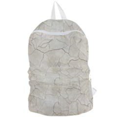 Background Wall Marble Cracks Foldable Lightweight Backpack