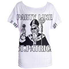 St  Patricks Day  Women s Oversized Tee