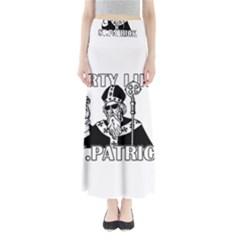 St  Patricks Day  Full Length Maxi Skirt