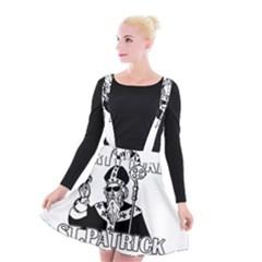 St  Patricks Day  Suspender Skater Skirt