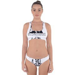 St  Patricks Day  Cross Back Hipster Bikini Set