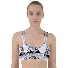 St  Patricks Day  Line Them Up Sports Bra