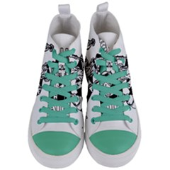 St  Patricks Day  Women s Mid Top Canvas Sneakers