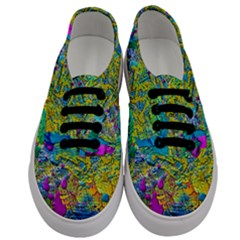 Background Art Abstract Watercolor Men s Classic Low Top Sneakers