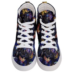 Mask Carnaval Woman Art Abstract Women s Hi Top Skate Sneakers
