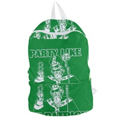 St  Patricks Day  Foldable Lightweight Backpack