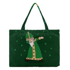 St  Patrick  Dabbing Medium Tote Bag