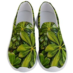Top View Leaves Men s Lightweight Slip Ons