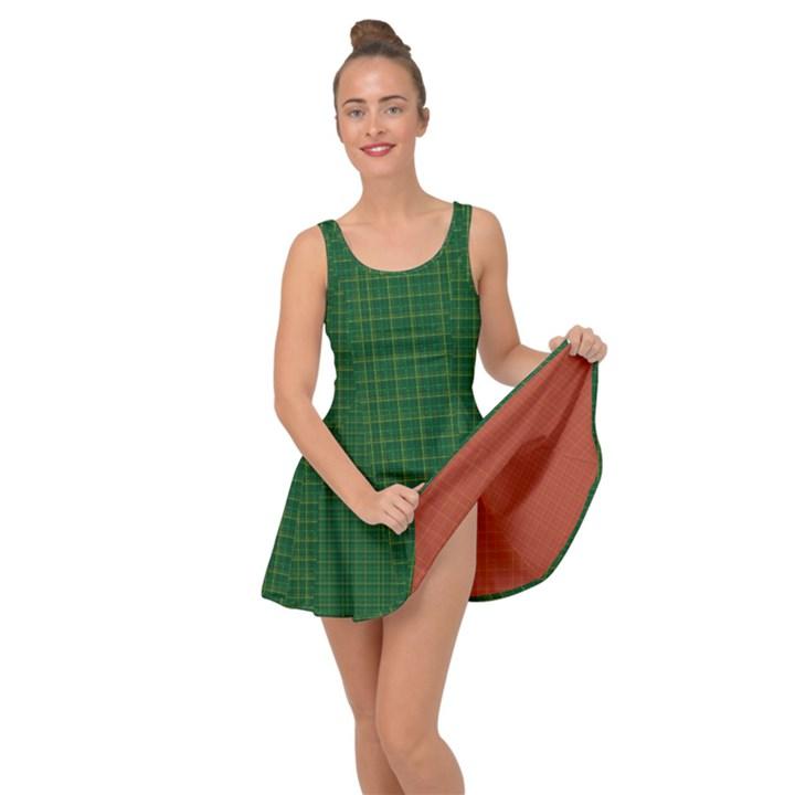 IRISH TARTAN STYLE Inside Out Dress
