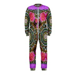 Roses In A Color Cascade Of Freedom And Peace Onepiece Jumpsuit (kids)