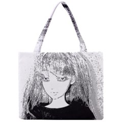 Girl Mini Tote Bag